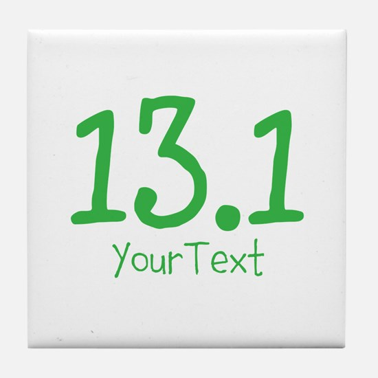 Customize GREEN 13.1 Tile Coaster