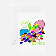 Babys 1st easter Greeting Cards