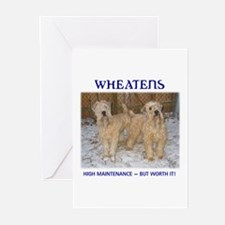 Soft Coated Wheaten Greeting Cards (Pk of 10)