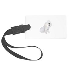 Poodle (W3) Luggage Tag