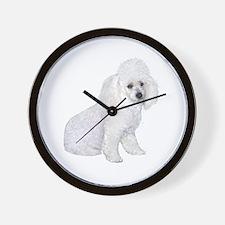 Poodle (W3) Wall Clock