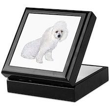 Poodle (W3) Keepsake Box