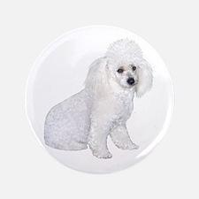 """Poodle (W3) 3.5"""" Button"""