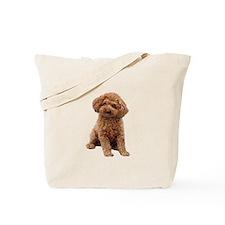 Poodle-(Apricot2) Tote Bag