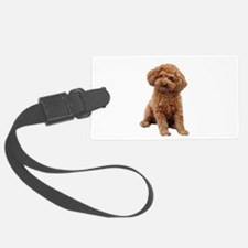 Poodle-(Apricot2) Luggage Tag
