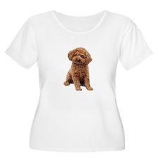 Poodle-(Apric T-Shirt
