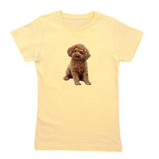 Poodle-(Apricot2) Girl's Tee