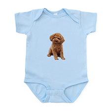 Poodle-(Apricot2) Infant Bodysuit