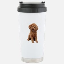 Poodle-(Apricot2) Travel Mug