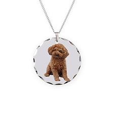 Poodle-(Apricot2) Necklace