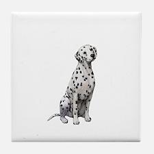 Dalmatian #1 Tile Coaster