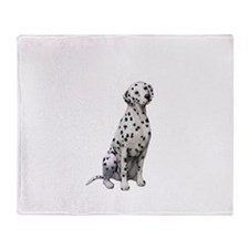 Dalmatian #1 Throw Blanket