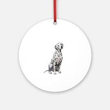 Dalmatian #1 Ornament (Round)