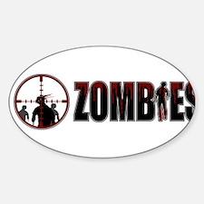 I Kill Zombies Decal