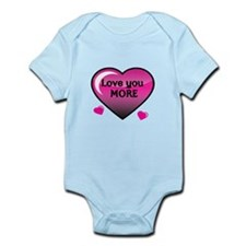 Love you More 2 Body Suit