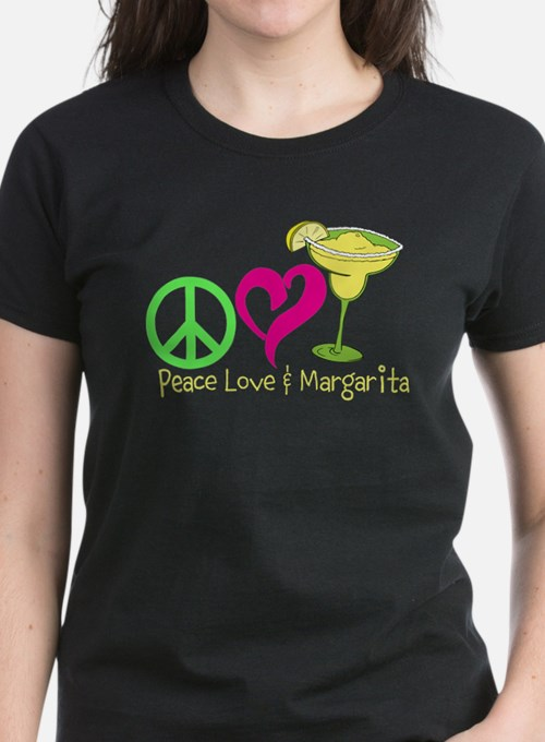 Peace Love & Margarita T-Shirt