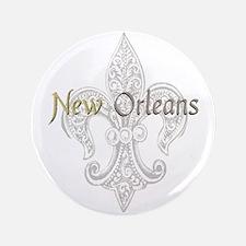 "New Orleans 3.5&Quot; 3.5"" Button"