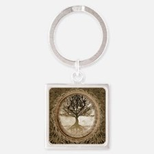 Tree of Life in Brown Keychains