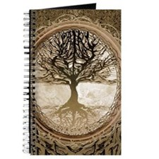 Tree of Life in Brown Journal
