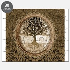Tree of Life in Brown Puzzle