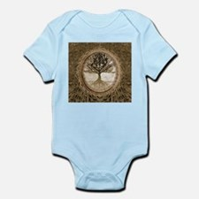 Tree of Life in Brown Body Suit