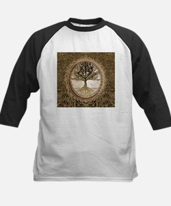 Tree of Life in Brown Baseball Jersey