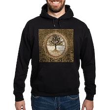 Tree of Life in Brown Hoody