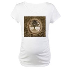 Tree of Life in Brown Shirt
