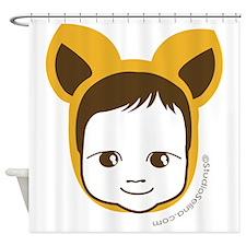 Fox Baby Shower Curtain
