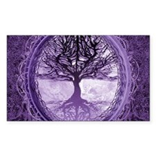 Tree of Life in Purple Decal