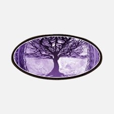 Tree of Life in Purple Patches
