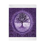 Tree life purple Duvet Covers
