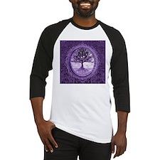Tree of Life in Purple Baseball Jersey