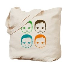 Colorful Baby Tote Bag