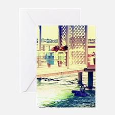 Lake Swans Greeting Cards
