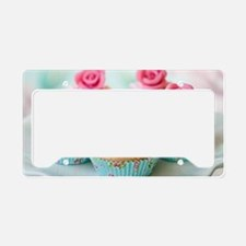 Cupcake License Plate Holder