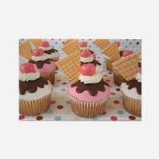 Cupcake Rectangle Magnet