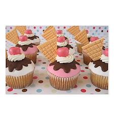 Cupcake Postcards (Package of 8)