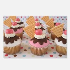 Cupcake Postcards (Package of 8)