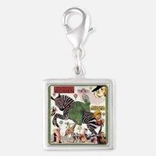 Well Behaved Women Silver Silver Square Charm