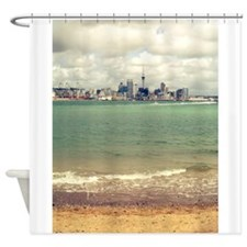 New Zealand Icons Auckland Shower Curtain