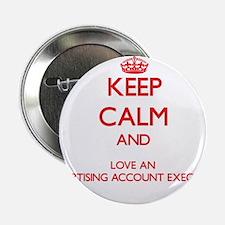 """Advertising Account Executive 2.25"""" Button"""