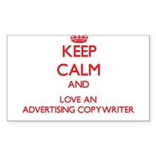 Advertising Copywriter Decal