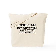 Here I Am Tote Bag