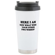 Here I Am Travel Mug