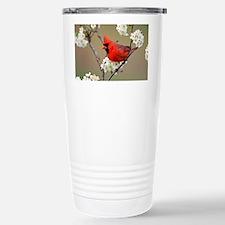 Red Cardinal Photo Travel Mug