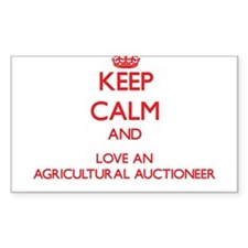 Agricultural Auctioneer Decal