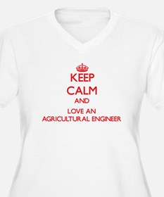 Agricultural Engineer Plus Size T-Shirt