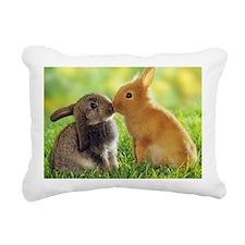 Bunny Rectangular Canvas Pillow