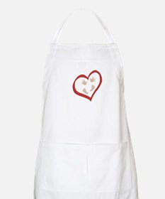 Baby Hands and Feet in Heart 2 Apron